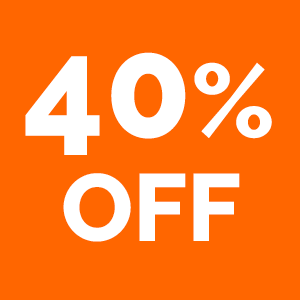 40% off when you spend £25 or more