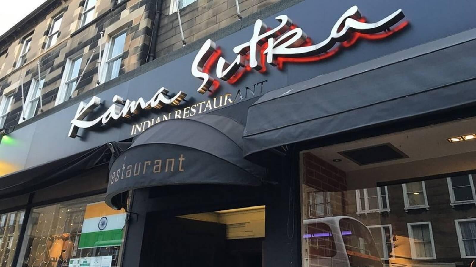 Kamasutra Indo Tapas Indian Restaurant Edinburgh